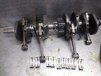 Honda 1976 - 1978 CB750A Hondamatic Crankshaft & Connecting Piston Rods Set