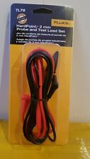 Fluke TL75 Hard Point Meter Test Leads For Multimeter/clamp CATIII 1000V 10A.NEW