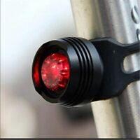 Bike Bicycle Front Rear Tail Helmet Red Flash Led Lights Safety Warning Lamp