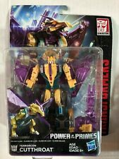 Transformers Power of the Primes Deluxe Class Terrorcon Cutthroat Figure Hasbro