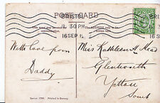 Genealogy Postcard - Family History - ?ead - Glentworth - Yatton Somerset  U3600
