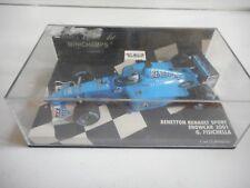 Minichamps F1 Benetton Renault Sport Showcar 01 Fisichella - Blue on 1:43 in Box
