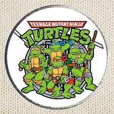 Teenage Mutant Ninja Turtles Patch Picture Embroidered Border TMNT Leo Donnie