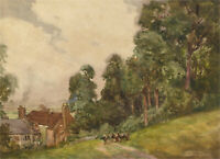 William Tatton Winter RBA (1855-1928) - Early 20th Century Watercolour, Hillside