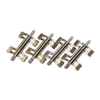 Front Brake Pad Retaining Spring Pin Kit for Audi RS6 C5 Brembo 8pot Calipers