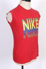 New listing Vintage 80s Nike Block Print Blue Tag 50/50 T-Shirt Usa Mens Size Medium