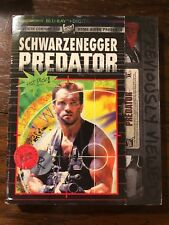 PREDATOR Blu-Ray & Digital COLLECTIBLE RETRO VHS RENTAL SLIPCOVER NEW RARE OOP
