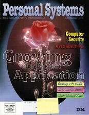 Personal Systems Magazine - July/August, 1996 Back Issue COMPUTER Magazine