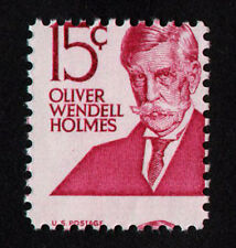 USA, Scott # 1288, MISPERF (PERF SHIFT) STAMP OF OLIVER WENDELL HOLMES, MNH