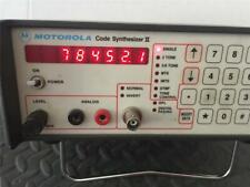 MOTOROLA CODE SYNTHESIZER 2 II w/CORD- MODEL#  R1151A