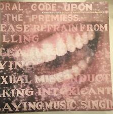 Alanis Morissette Promo Poster Flat Supposed Former Infatuation Junkie 1998 Mint