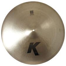 "Zildjian K0819 22"" Ride Drumset Cymbal Cast Bronze Medium-Low Profile - Used"