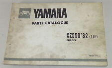 Teilekatalog / Spare Parts List Yamaha XS 650SE Baujahr 1979 Stand 01/1979