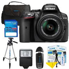 Nikon D5300 24.2 MP DSLR Camera W/ 18-55mm VR II Lens + I3ePro 32GB Pro Bundle