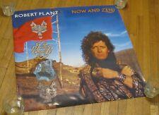 "Led Zeppelin'S Robert Plant 1988 ""Now And Zen"" Release Big 24""x24"" Promo Poster"