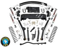 "Jeep XJ Cherokee 4.5"" Long Arm Suspension Lift Kit, 84-01 XJ, 68922, 61622"