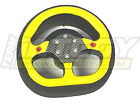 T3885RED Integy RC Modified Steering Wheel for Airtronics MX-3 CS2P XL2P (Red)