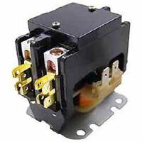 Packard C240A 40 AMP 24 VAC Double 2-Pole Definite Purpose Contactor HVAC