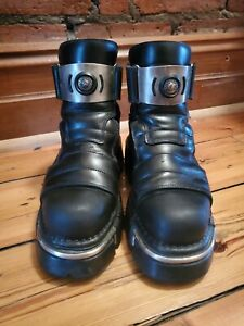 NEW ROCK boots shoes platforms size 39 punk goth gothic newrock