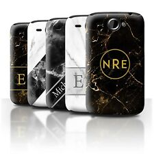 Personalized Custom Marble/Granite Phone Case for HTC Wildfire/G8/Initial Cover
