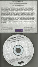 GRAHAM NASH Lost Another One 2002 USA PROMO Radio DJ CD Single Crosby and Stills