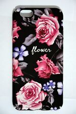 COVER FLOWER IPHONE 6 7 8 PLUS FIORI CUSTODIA RIGIDA APPLE