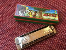 C.A.Seydel Sohne Blues Diatonic Harmonica In Box Made In Germany Key Of G Dur