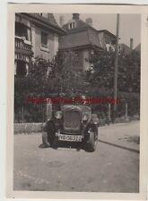 (F12155) Orig. Foto Automobil Opel wendet auf der Straße, 1930er