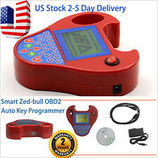Mini Type Smart Zed-Bull OBD2 Auto Key Programmer Tool No Tokens Limitation USA