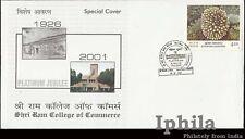 Shriram College of Commerce Delhi University Platinum Jubilee SRCC India cover