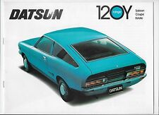 1974 Datsun 120Y (B210) saloon, coupé & estate car brochure