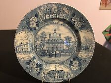 Meakin Old English Staffordshire Plate Governors Palace Williamsburg, Virginia