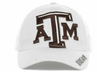 Texas A&M Aggies Top of the World White Flexfit hat NCAA Big Logo flex cap LXL