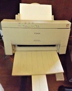 Canon BJC 4000 printer + CBJ-21C  CBJ-21B ink