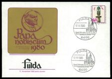 BUND 1980 PAPST-BESUCH POPE PAPA JOHANNES PAUL II FULDA ay46