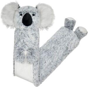 Habigail Extra Long Hot Water Bottle – Super Soft Novelty Plush Cover Koala