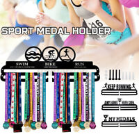 Durable Medals Display Hanger Rack Holder Miles Of Memories Run Sport