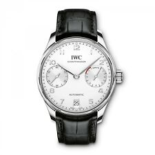 New IWC Portugieser  Stainless Steel Automatic 42.3 mm Silver Watch IW500712