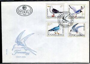 2057 - Yugoslavia 1984 - Fauna - Sea Birds - FDC