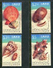 Hong Kong 803-806, MNH, Marine Life,Shells. x12154