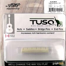 """Sillet Graph Tech  Tusq  PQ-6138-00 Acoustic 1 7/8"""" Slotted nut 48.21x4.8mm"""