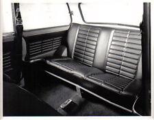 Mini Clubman interior back seat original b&w Press Photograph  Pub. No. 198226