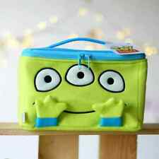Toy Story GREEN MAN ALIEN Doll Toys Makeup Bag Cosmetic Case Pouch Wallet Purse