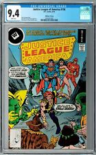 Justice League of America #158 CGC 9.4 (Sep 1978, DC)  Frank Giacoia Whitman var