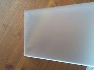 Acrylglas GS beidseitig satiniert 3 und 5 mm Große Platten J kostenloser Versand