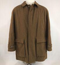 Vintage Hart Schaffner Marx Brown Wool Corduroy Coat Jacket Size Medium