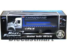 FAST & FURIOUS 7 INTERNATIONAL DURASTAR 4400 FLAT BED TOW TRUCK 1:24 JADA 97218