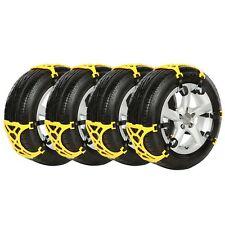 6pcs Car Snow Tire Anti-skid Chains Beef Tendon Vehicle Wheel Antiskid TPU Chain