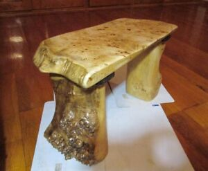 exclusive Table Burl, natural wood coffee table, Handmade, slab board table,