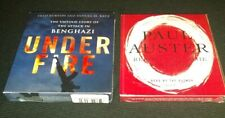 Lot Of 2 Audiobooks Benghazi Under Fire + Paul Auster Report From The Interior
